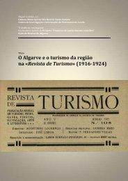 O Algarve e o turismo da região na «Revista de Turismo» (1916-1924)