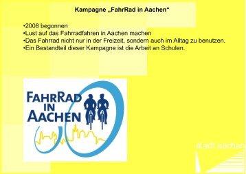 Kinderunfallkommissionen 2012 - Kampagne FahrRad in ... - VRS