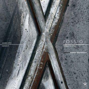 Revista Rossio: Estudos sobre Lisboa (Nº 0) - Câmara Municipal de ...