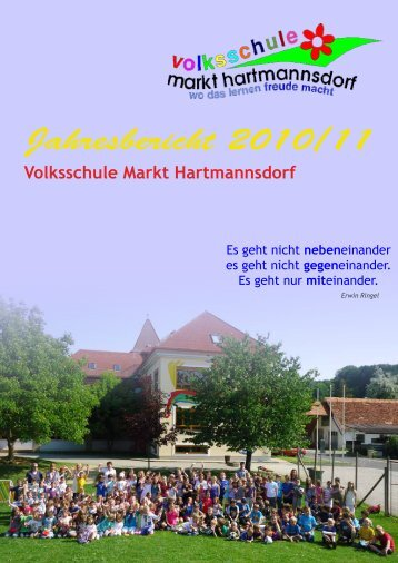 Jahresbericht 2010/11 - VS Markt Hartmannsdorf