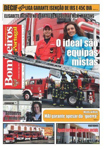 Março - Jornal Bombeiros de Portugal
