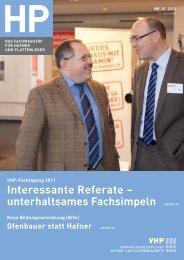 HP Nr. 01/2011 (pdf) - VHP