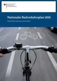 Nationaler Radverkehrsplan 2020 - Difu.de