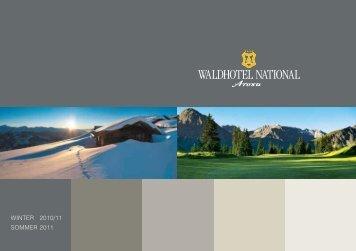 n Arosa stellung ersaison 10/2011 - Waldhotel National