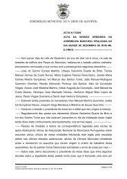 ASSEMBLEIA MUNICIPAL DE S. BRÁS DE ALPORTEL - Câmara ...