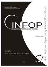 A Avaliação em Língua Portuguesa nas séries iniciais - CINFOP ...