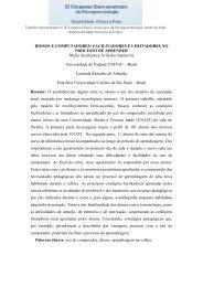 IDOSOS E COMPUTADORES: FACILITADORES E LIMITADORES ...