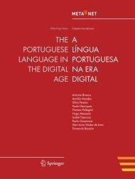 A Língua Portuguesa na Era Digital - Meta-Net