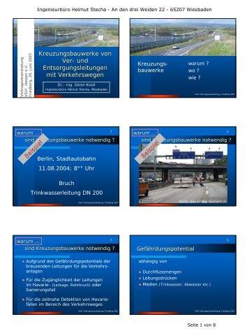 und Entsorgungsleitungen - VSVI Hessen