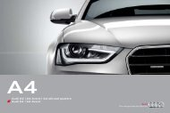 Download do catálogo (9 MB) - Audi Portugal
