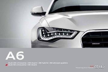 Audi A6 Limousine | A6 Avant | A6 hybrid | A6 allroad ... - Audi Portugal