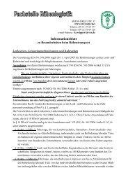 Informationsblatt zu Besonderheiten beim Rübentransport - VSZ