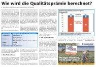 Wie wird die Qualitätsprämie berechnet? - VSZ