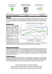 Newsletter vom 19. Dezember 2012 - VSZ