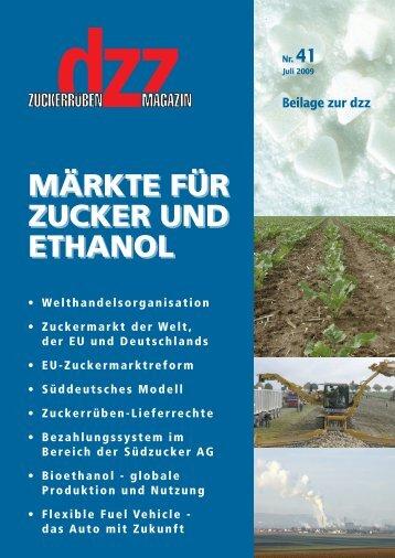 märkte für zucker und ethanol märkte für zucker und ethanol - VSZ