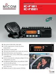 catálogo IC-F121 COMERCIAL