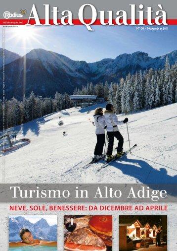 Radius Alta Qualita Turismo 2011
