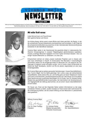 NL August 2005 - Vivamos Mejor