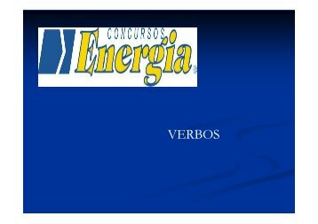Verbos concurso - aula 24-02 - Energia Concursos