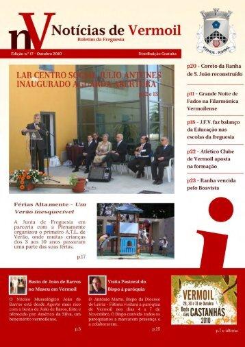 Outubro 2010 - Freguesias