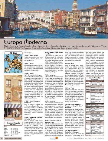 Europa Moderna - Lusanova