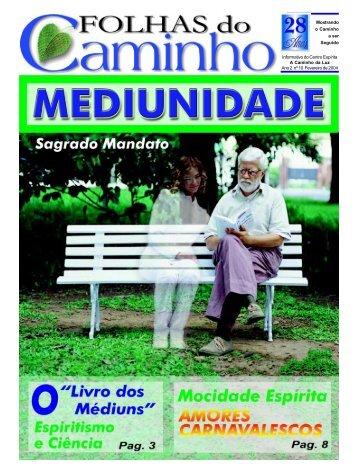 Página 01-capa - Fev2004 - Centro Espírita A Caminho da Luz