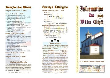 informativo 169 Ficheiro PDF - Diocese de Braga