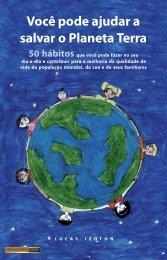 Você pode ajudar a salvar o Planeta Terra - Lucas Izoton