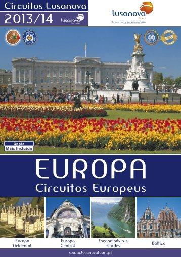 EUROPA – CiRCUitOs EUROPEUs - Lusanova Tours