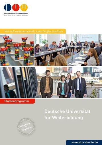 Deutsche Universität für Weiterbildung - VWA