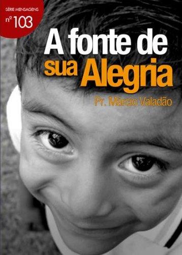 A fonte de sua Alegria - Livros evangélicos