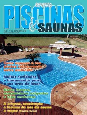 As piscinas do mês - Sodramar
