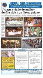 Uruaçu, cidade do melhor desfile cívico do Norte ... - Jornal Cidade