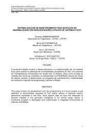 SISTEMA AUXILIAR DE MONITORAMENTO PARA ... - CERPCH