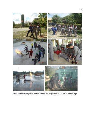19 Fotos ilustrativas da prática de treinamento dos ... - UFMG
