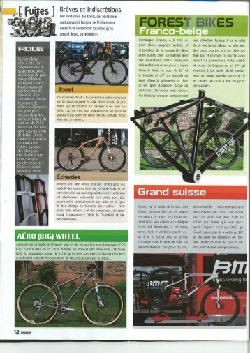 Lire le test - Wanner Cycles, Orbe