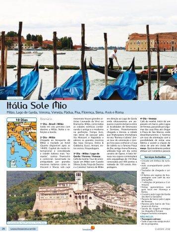 Itália Sole Mio - Lusanova
