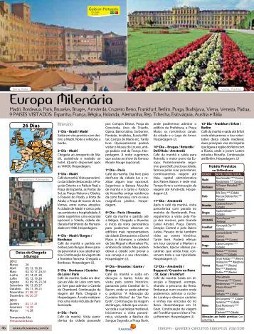 Europa Milenária - Lusanova