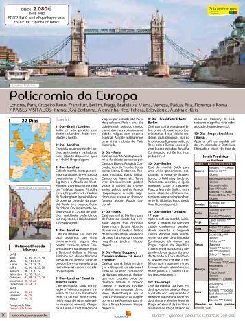 policromia da Europa - Lusanova