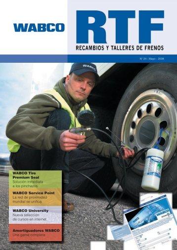 WABCO Tire Premium Seal Solución inmediata a los pinchazos ...