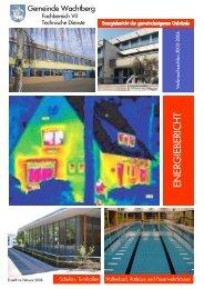 Energiebericht der Gemeinde Wachtberg