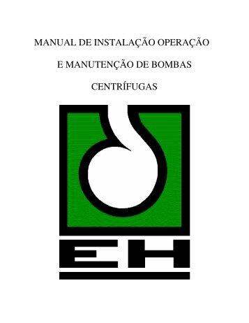 MANUAL DE INSTALAÇÃO OPERAÇÃO E ... - TropicalRio