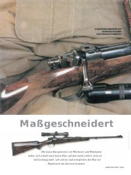 Maßgeschneidert (Jagen Weltweit 1/2004) - Waffen Jung GmbH