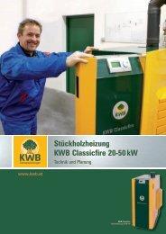 KWB Classicfire - KWB Biomasseheizungen