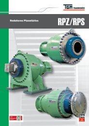 Catálogo Redutores Planetários RPZ - TGM