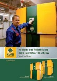 KWB Powerfire - KWB Biomasseheizungen