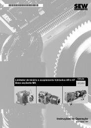 Instruções de Operação - SEW Eurodrive