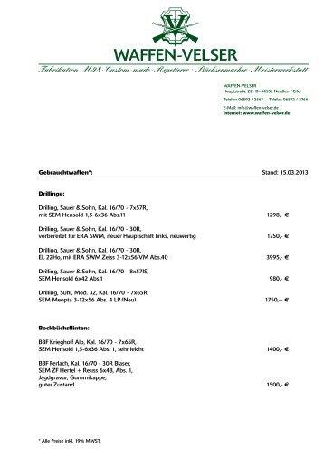 PDF-Download - Waffen Velser