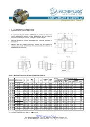 Catálogo Acoplamento Acriflex Grade F _ Pronto