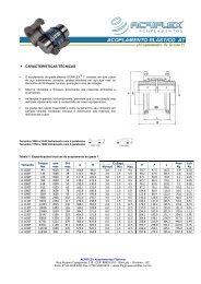 Catálogo Acoplamento Acriflex Grade T _ Pronto
